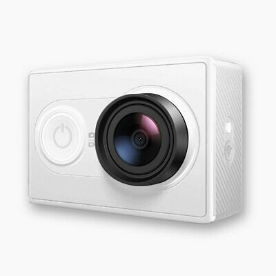 Action Camera YI 16 MP  with High-Resolution WiFi and Bluetooth - White