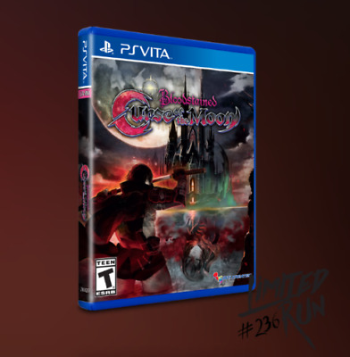 Bloodstained: Curse of the Moon PlayStation Vita PS Vita Limited Run Games