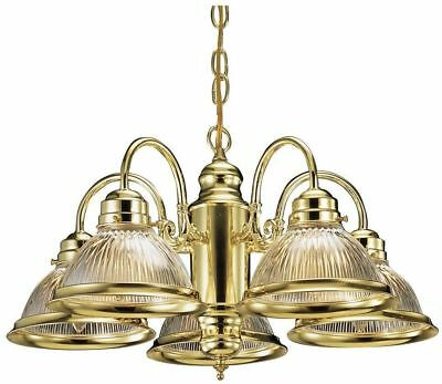 Design House Millbridge 5-light Chandelier Polished Brass