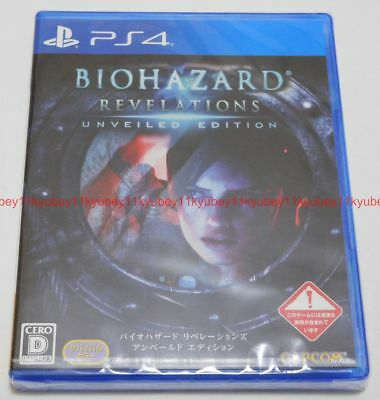 New PS4 BIOHAZARD Resident Evil Revelations Unveiled Edition Japan PLJM-80272