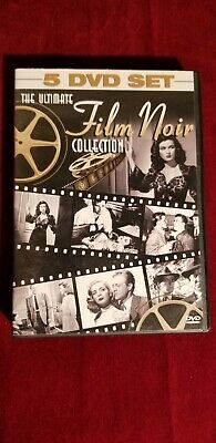 The Ultimate Film Noir Collection (DVD, 2006, 5-Disc Set) Free Shipping