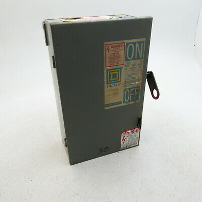 Schneider Electric Fusible Busway Switch 30 AMP 600 Vac PQ3603G