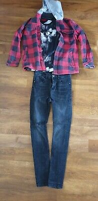 Boys Clothes Bundle Jeans/ Tee-shirt/ Jacket Age 12 From Next