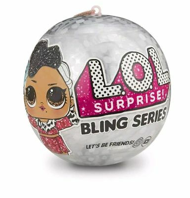 NEW LOL Surprise Bling Series Doll Silver L.O.L. Surprise! Bling Big Sister Ball