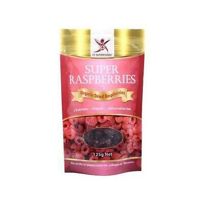 DR SUPERFOODS Super Raspberries 125g