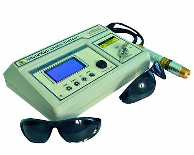 Prof. Use Computerised Low Level Laser Therapy LCD Chiropractic Machine &ogo