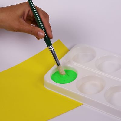 Plastic Paint Palette Mixing Tray 8 Well Holder Container for Kids Art Painting