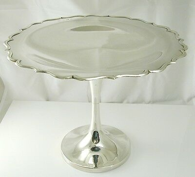 "Antique sterling silver tazza 8 1/4"" 1909 Henry Williamson LTD 770.9 grams"