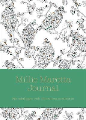 Millie Marotta Journal: Ruled Pages with Full Page Illustrations from Wild Savan