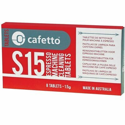 Cafetto S15 Espresso Coffee Machine Cleaning Tablets Cleaner for Super Automatic