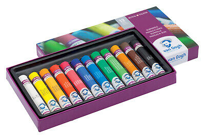Royal Talens Van Gogh Artists' Quality Oil Pastels Set of 12 Colours