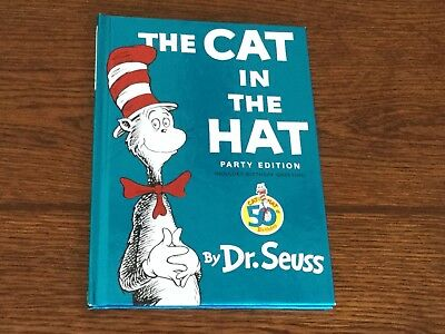 The Cat In The Hat Party Edition Cat In The Hat 50th Birthday By Dr. Seuss