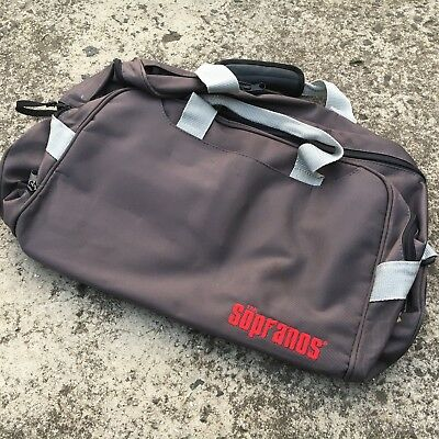 "THE SOPRANOS ""Gunmetal Grey"" Promotional Luggage Large Travel Carry Bag"
