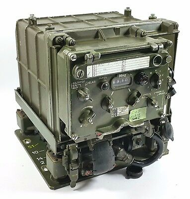 Rare Sem25 Vehicular Military Radio Transceiver German Army Nato Unimog Receiver