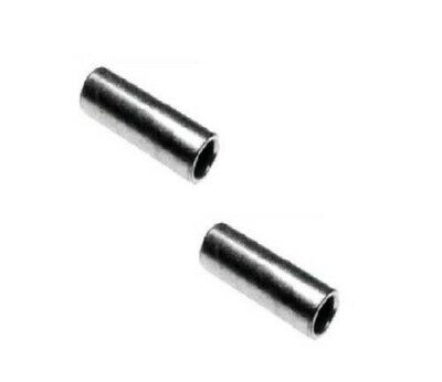 """Set of 2 Top Hat Type Spanner Bushings Reducer 5//16/"""" OD x 1//4/"""" ID x 7//16/"""" Long"""