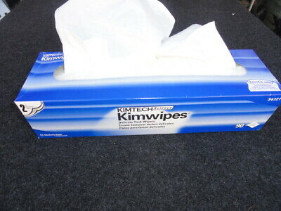 """Kimwipes 2-Ply Delicate Task Wipes, 14.7"""" x 16.6"""", 90 Tissues 34721"""