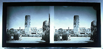 Photo photographie colonies Afrique 1900 Africa fortifications tour 2