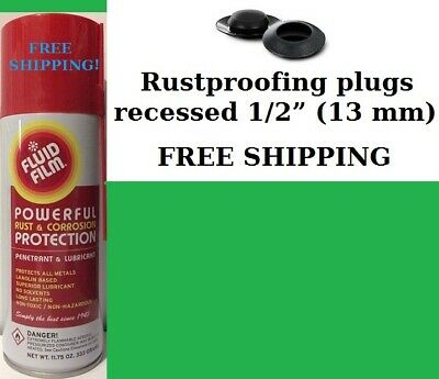 Fluid Film 11.75 Oz. 12 Cans + 10 Free Rust Plugs, Only $91.89 +Free Shipping