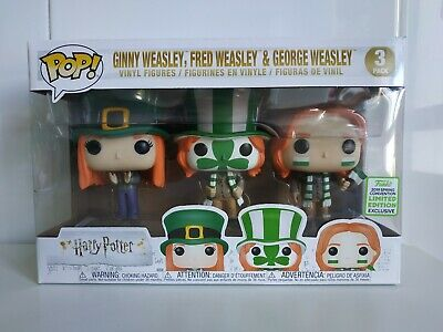Funko Pop Harry Potter Weasley Three pack- ECCC 2019 - Quidditch world cup