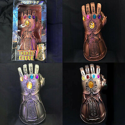 Thanos Infinity Gauntlet Marvel Legends Glove Avengers Cosplay Props Toys Boxed