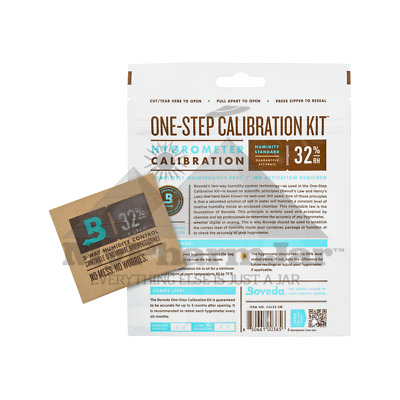 Boveda One-Step Calibration Kit (32.0% Rh) - Small