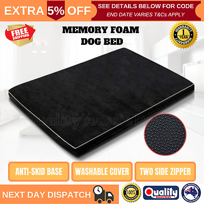 XXL Soft Waterproof Pet Bed Mattress Extra Large Dog Cat Pad Mat Cushion Pillow