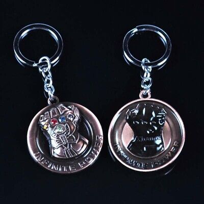 Aquaman Trident Metal Keychain DC Collectible Bag Rudder Pendant Keyrings Gifts