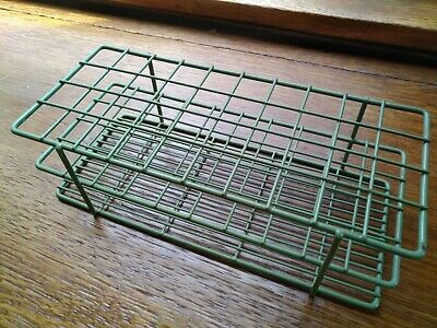 Bel-Art Products, 18762-0000, Poxygrid Green Test Tube Rack, 18-20mm 40 Places