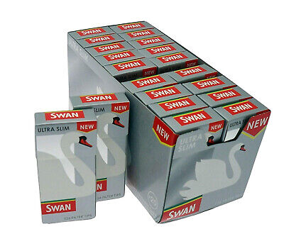 New Swan Ultra Slim Filters - New - 5 Packets X 126 Pre Cut Filter Tips