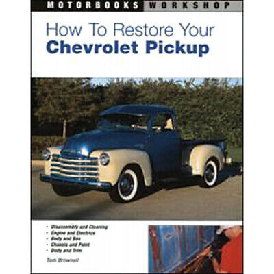 How To Restore Your 1957 Chevy Book 57-131889-1