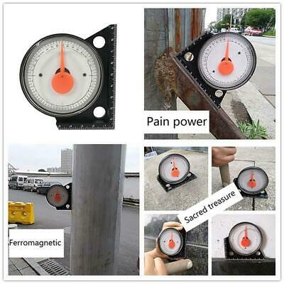 Slope Inclinometer Protractor Tilt Level Meter Angle Finder Clinometer Gauge Hot