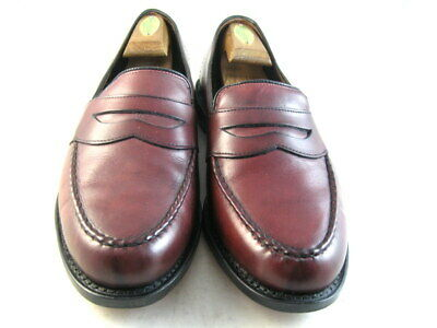 3f15c08dad6 ALLEN EDMONDS RANDOLPH 10.5 EEE 3E Brown Penny Leather Loafers Men s ...