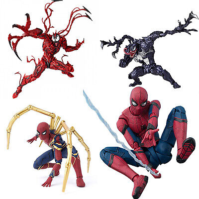 Superhero Marvel Spiderman Venom Series PVC Action Figures Model Kids Boxed Toys