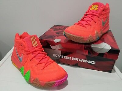 28277efc1565 New 2018 Nike Kyrie 4 Lucky Charms BV0428-600 Cereal Pack Mens Shoes DS Size
