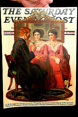 1929 NORMAN ROCKWELL SATURDAY EVE POST HISTORICAL ISSUE (sale)