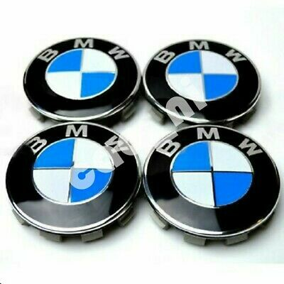 4x 68mm Alloy Wheel Centre Caps center cap  fits Genuine BMW Alloys Wheels M 135