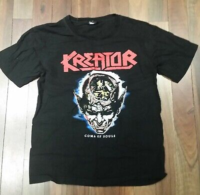 Kreator - Coma Of Souls T-Shirt Size L ( Pre- Loved)