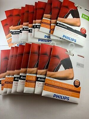 Philips Action Fit High Performance Sport Sleeve Armband Size XXL 20 Pack S/M