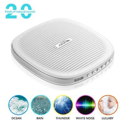 Sleeping Nature White Noise Machine 20 Nature Sounds Night Time Auto Sleep Relax