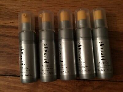 Lot of 10 Elizabeth Arden PREVAGE Anti-Aging Daily Serum .17 oz each 1.7oz total
