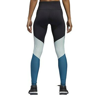 878ef5593a3 adidas Women's Believe This Mesh Mix 7/8 Training Tights (Black/Real Coral