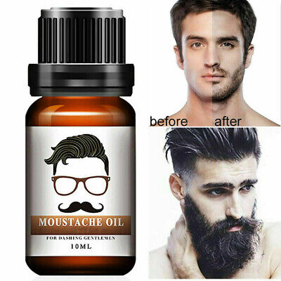 Men Beard Growth Serum Facial Hair Mustache Treatment Liquid Rapid Grow Enhancer