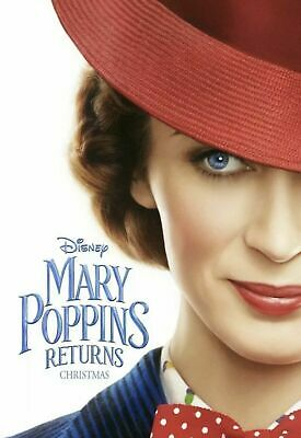 Mary Poppins Returns (Choose 4k UHD Disc or Blu-Ray Disc) + Download Code
