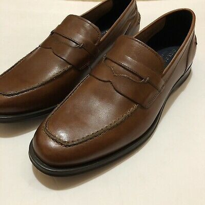 b2a55771fc5 New Cole Haan Fleming Penny Loafer Men s Size 10 British Tan Leather  Grand.OS