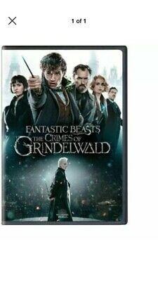 Fantastic Beasts The Crimes of Grindelwald (2-Disc DVD 2019) Bonus Disc Included