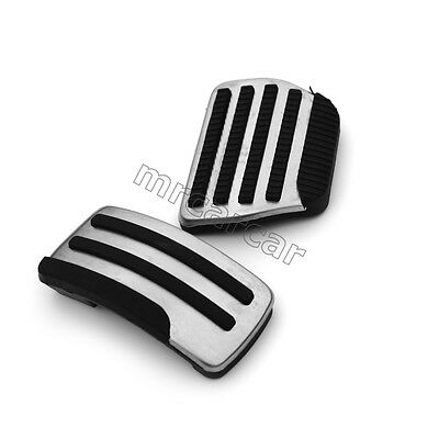 Car Front Foot Pedal Pad Fuel Brake AT Covers for Nissan Qashqai X-Trail 2010-13
