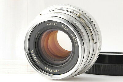 [EXC+++] Hasselblad Carl Zeiss Planar C 80mm f2.8 Lens Chrome from JAPAN A051N
