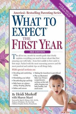 What to Expect When You're Expecting by Heidi Murkoff (English) Paperback Lot 2