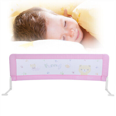 180cm Toddler Child Safety Bed Guard Folding Infant Baby Bed Rail Protection