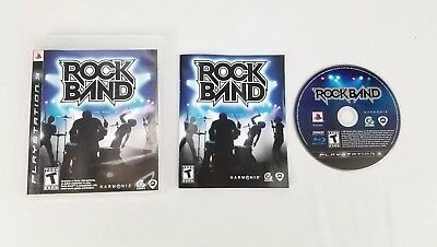 PS3 Rock Band (Sony PlayStation 3, 2007) Teen Complete